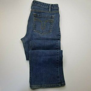 Loft Curvy Boot Leg Jeans Medium Wash Size 6